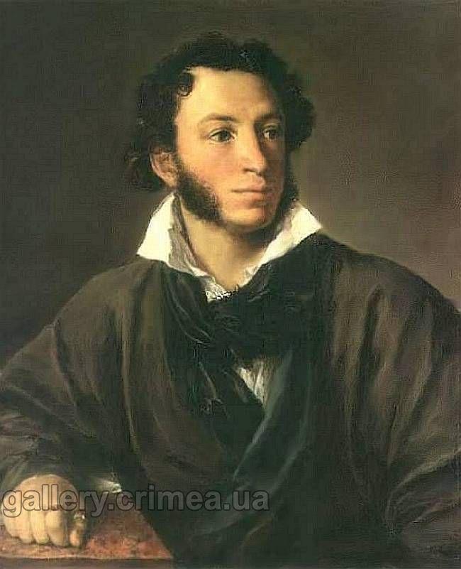 Портрет а с пушкина тропинин василий
