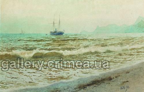 Мастер класс рисовать морской пейзаж