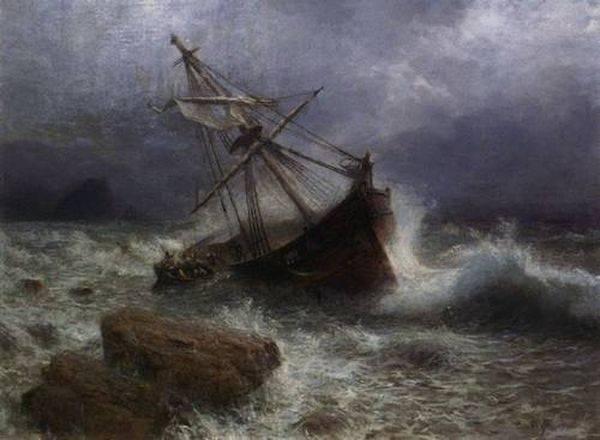 Буря на море лагорио лев феликсович