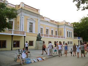 Crimea museum Aivazovsky Gallery
