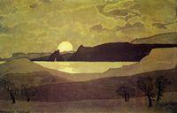 Волошин - Восход Луны встречали чаек клики.